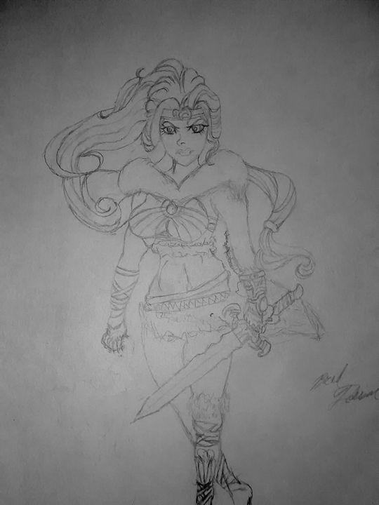 Barbarian warrior princess - PITBULL
