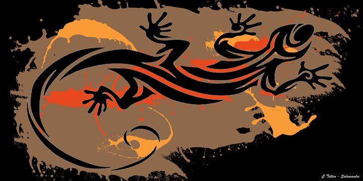 Salamandre - C.Tellier