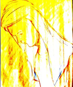 praying at church