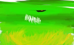 Flaming Green Dragon