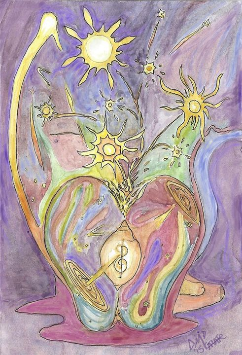Celestial fruits and flowers - D'veedLuis_Studios