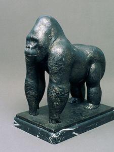 Lowland Gorilla - Bronzaart