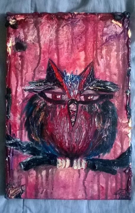 Owl Mood 2 - Kate Turova