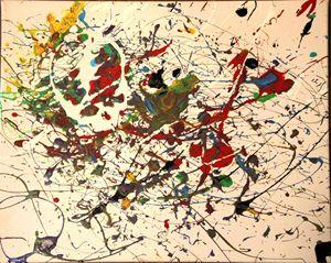 Steal Your Splatter#3 - Splatter Art from Branden Fisher