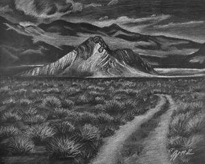 Death Valley Striped Butte