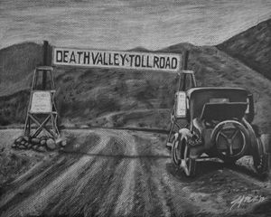 Death Valley Toll Road