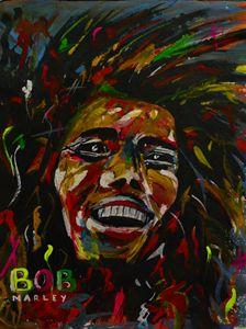 BoB Marley on Canvas