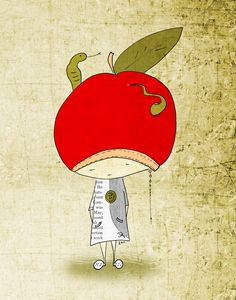 Art print ''Apple Buddy''