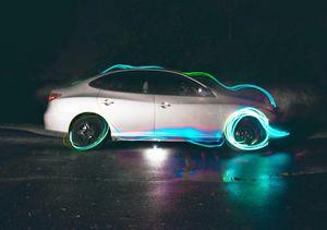 Car Light Trails Photography Prints
