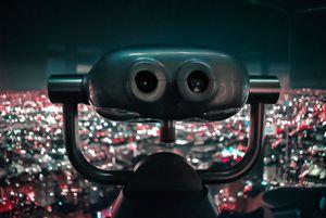 LA City Lights Overlook Photo Print