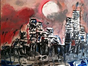 """No.80 """"Stormy Night in the City"""""""