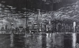 Stormy Night in NYC - Art and Soul