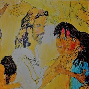 Jesus and his children