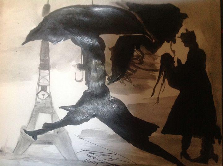 French Lovers - LOVE Art Wonders (NickysArt)