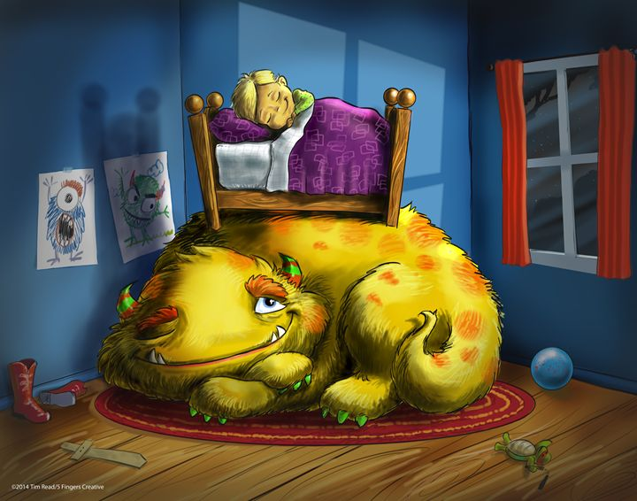 Bedtime Buddies - 5 Fingers Creative