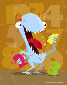 123 munch monster