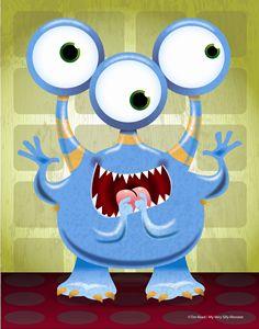 3 Eye Monster