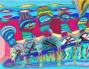 Vacances à l'ile de pàques - Eric RENAUD