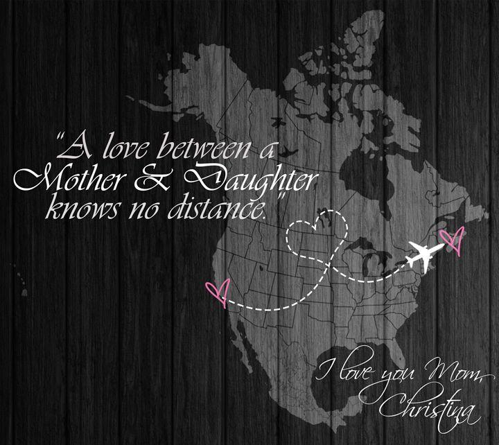 Love Knows No Distance - Christina Art