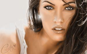 Megan Fox - Digital Painting