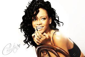 Rihanna - Digital Painting