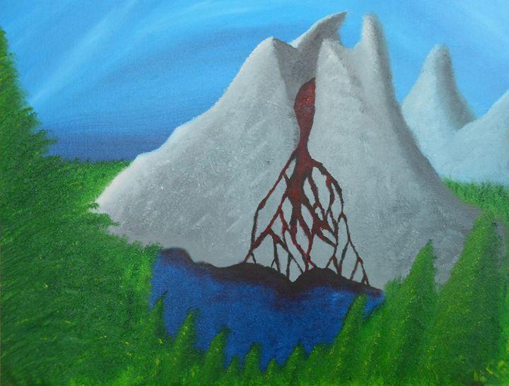 Lake of the Bleeding Mountain - Van-Grow-Art