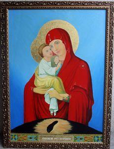 The icon of Pochaev Virgin