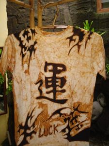 Kanji (Luck) Batik tattoo