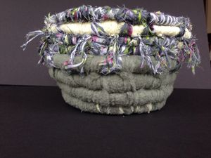 Coiled Fabric Basket - Young Sprout