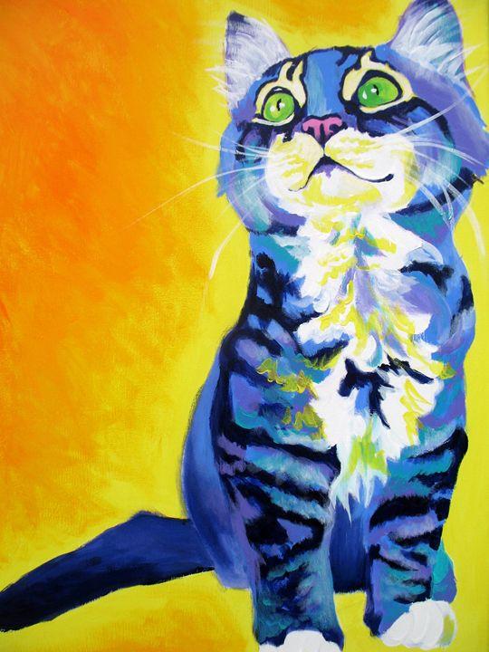 Here Kitty, Kitty - DawgArt