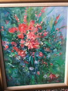 """Bouquet"" original by Thomas Trausch"