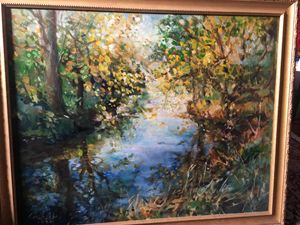 """Stream"" Original by Thomas Trausch"