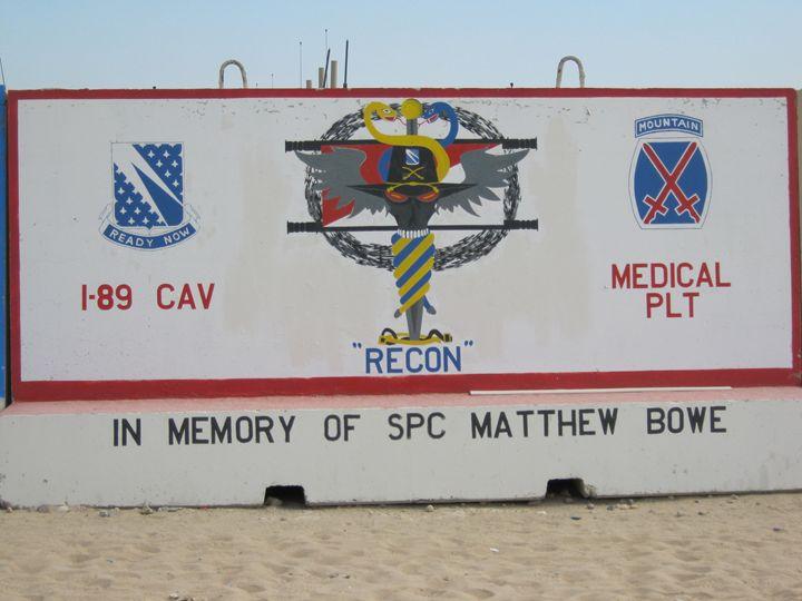 1-89 Cav Medical Platoon - 1SG Little Top Veteran Art