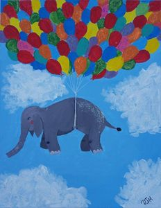 If Elephants Could Float Away