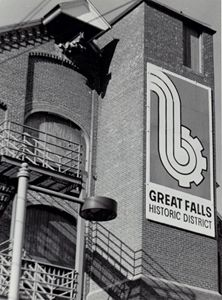 Great Falls Sign