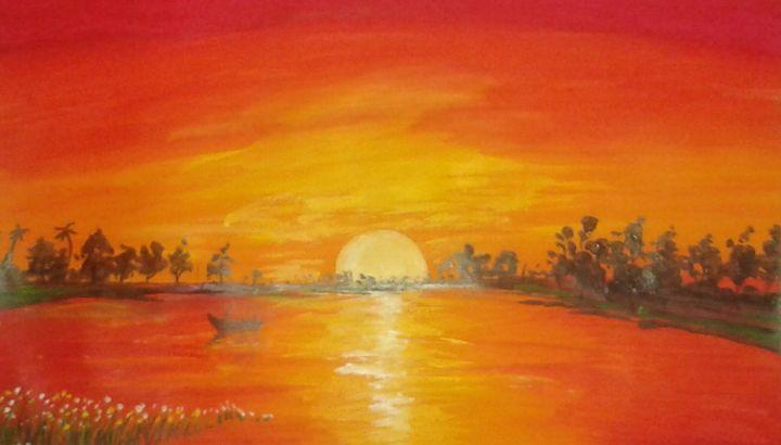 morning glory II - vibrant paintings