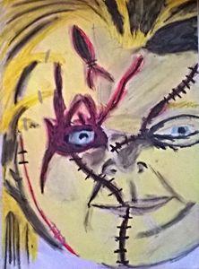 Chucky - Work by Layla