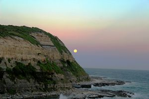 Cliff and The Moon