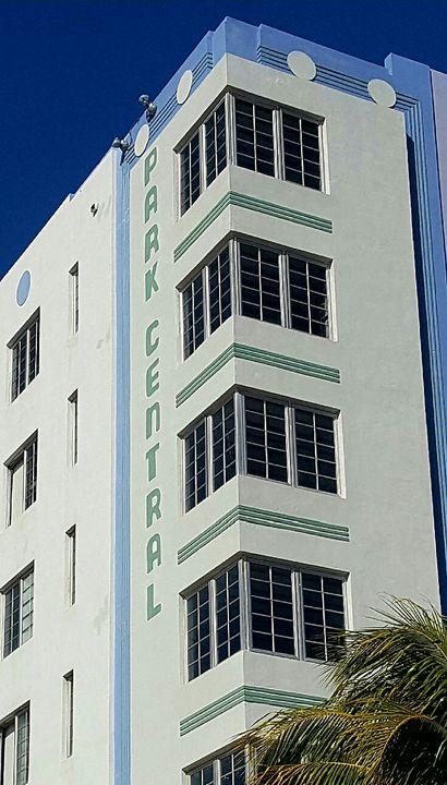 Park Central - South Beach, Miami Art