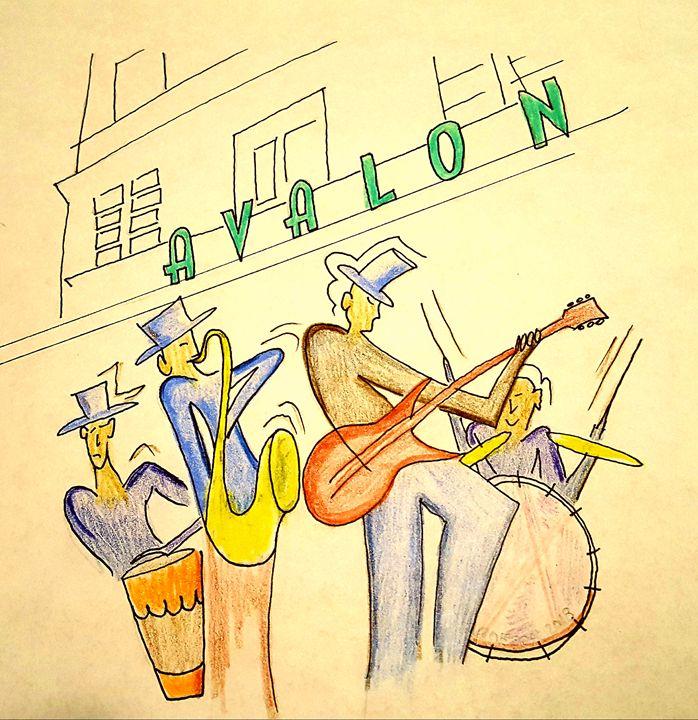 Avalon Hotel - South Beach, Miami Art