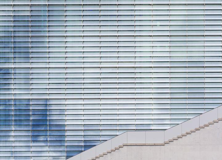 modern architecture, sky reflection - hanoh iki