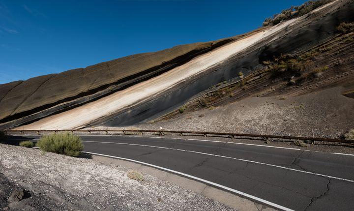 asphalt road in mountain landscape - - hanoh iki