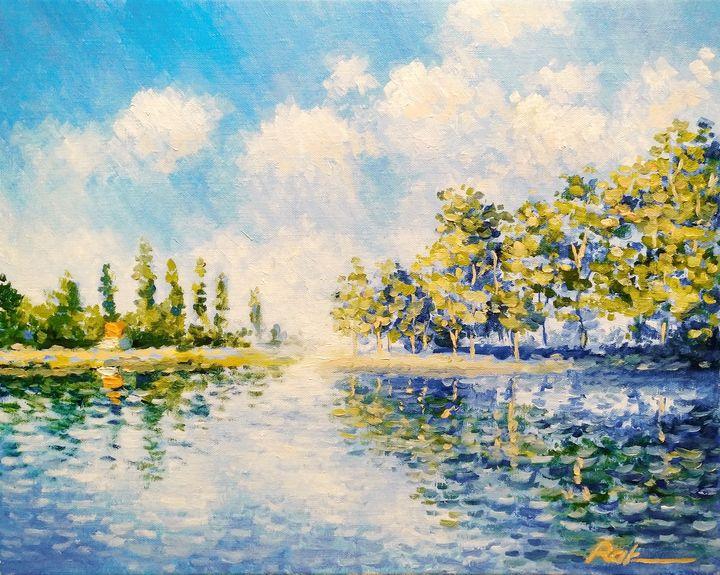 House by the river - Oleh Rak