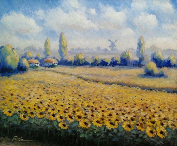 Sunflowers - Oleh Rak