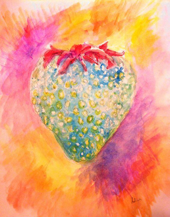 The Blue Strawberry - Andrea