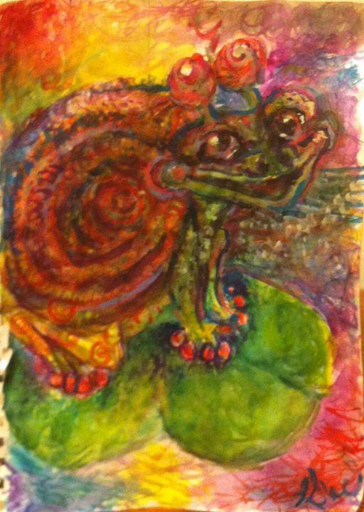 Snog Frail Frog Prince - Andrea