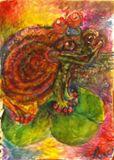 8.5x11 Watercolor print