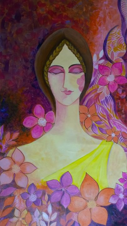 The Dreaming Lady - Srikalpameya