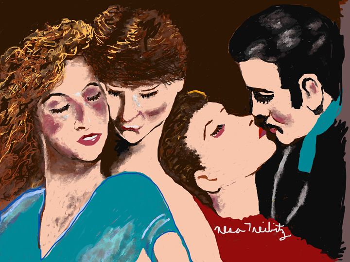 Dirty Dancing Gone with the Wind - Nesa's Art