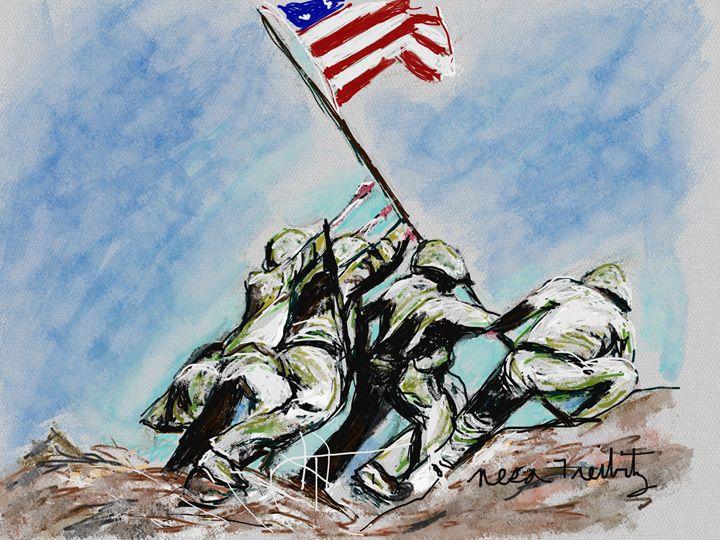 Iwo Jima - Nesa's Art